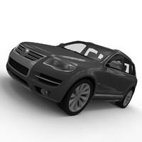 touareg 3d model