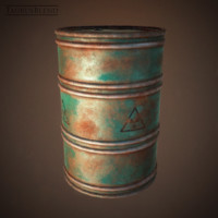 rusty barrel oil 3ds
