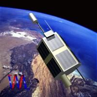3d tolou communications satellite model