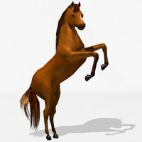 3d model horse animation