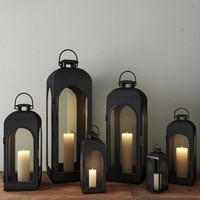 3d model lanterns lights