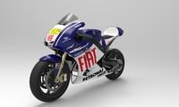 sport moto 3d obj