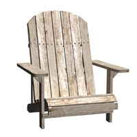 max wood beach chair