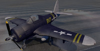 3d model ryan fr-1 fireball