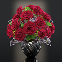 red roses flowers max