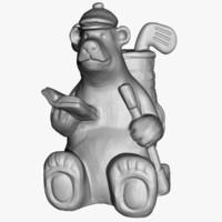 Bear Statuette