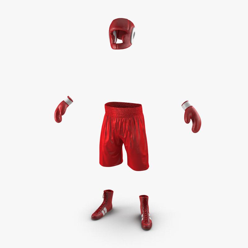 Boxing Gear 3d model 00.jpg