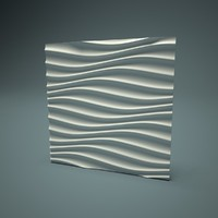 decorative wall panel 3d model