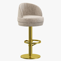 essential home gable bar chair 3d 3ds