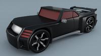 3d hot wheels model
