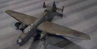 3d model avro manchester bomber