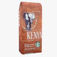 3d model starbucks packaging usa edition