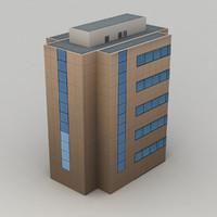 city building 3 3d model
