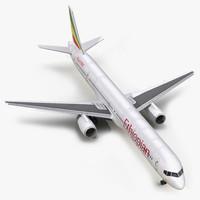 max boeing 757-300 ethiopian airlines