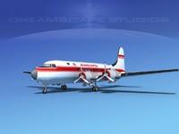 3d dc-4 propellers gear model