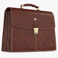 giudi leather classic briefcase max