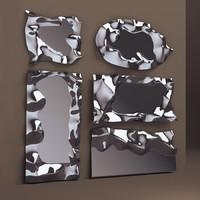 3d fiam mirrors