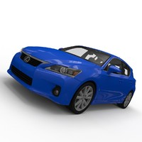 lexus ct 200h 3d model