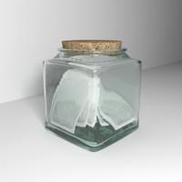glass tea bag holder max