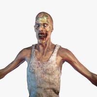 3d model zombie games