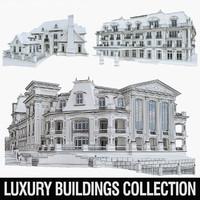 luxury buildings 3ds