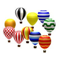 cartoon toon baloon 3d c4d