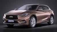 infiniti q30 2016 3d model