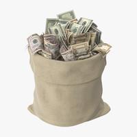Open Money Bag 01