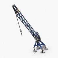 3d max crane port