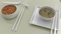 3d nissin cooked instant noodles