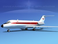 Douglas DC-9-20 Trans World 1