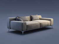pino sofa loop 3d model