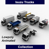 isuzu trucks ready 3d max