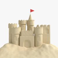 sand castle 3ds