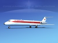 Douglas DC-9-40 Trans World Airlines 1