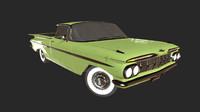 3d chevy el camino model
