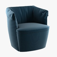 Overpass padded armchair di favaretto for b-line