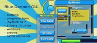 Blue Cartoon GUI Skin