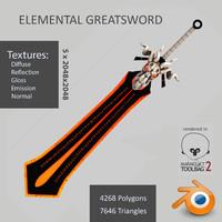 obj elemental greatsword