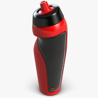 water bottle 3d obj