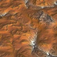 hills cliffs terrain 3d max