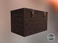 wooden chest brown max free