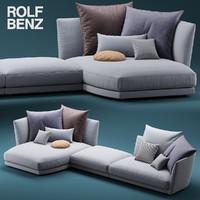 ROLF BENZ TONDO sofa