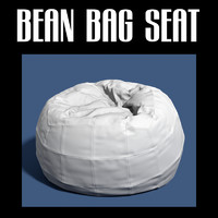 3d obj bean bag