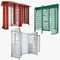 Galvanized Turnstile Collection 01