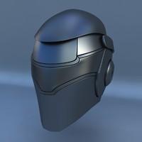 robot head l 3d model