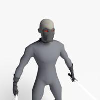 3d dark space warrior games