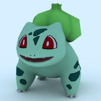 bulbasaur games 3d model