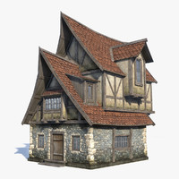 max medieval fantasy house 1