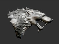 max thrones house stark heraldry